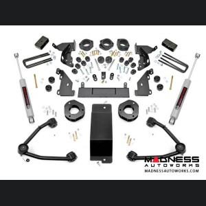 "Chevy Silverado 1500 4WD Combo Lift Kit w/ Upper Control Arms - 4.75"" Lift - Cast Aluminum"